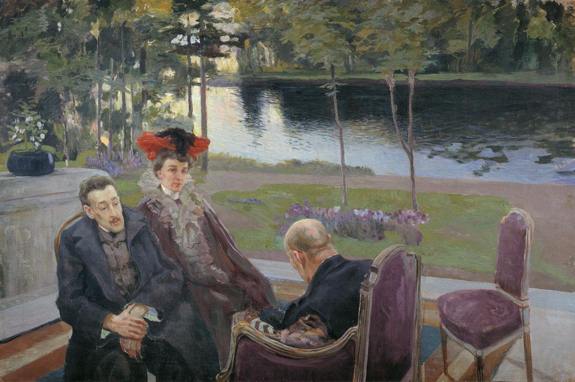 Демьянов. Групповой портрет (Борисов-Мусатов с семьей)