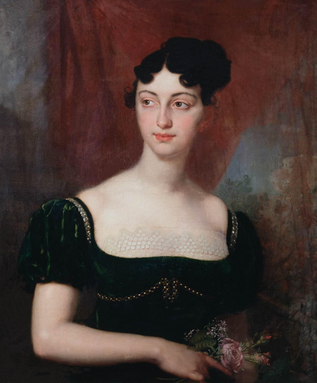 Боровиковский. Портрет Марии Николаевны Яковлевой. 1812